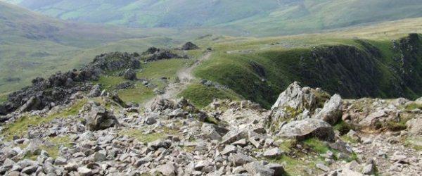 Cadair Idris and Mynydd Moel from Llanfihangel-y-pennant