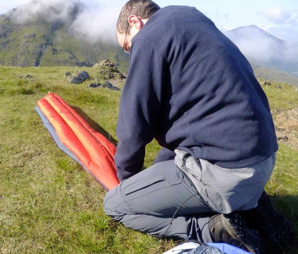 Klymit Inertia X Frame Sleeping Pad Review - Mud and Routes