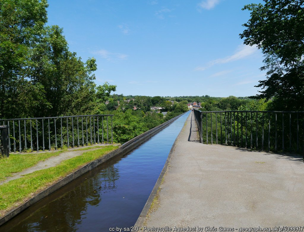 Llangollen Round - Llangollen Canal Walk to Pontcysyllte Aqueduct