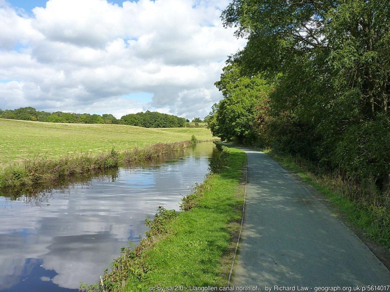 Llangollen Canal Walk to Pontcysyllte Aqueduct