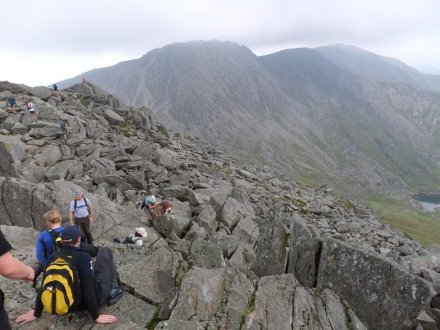 Tryfan South Ridge Scramble and the Devil's Kitchen