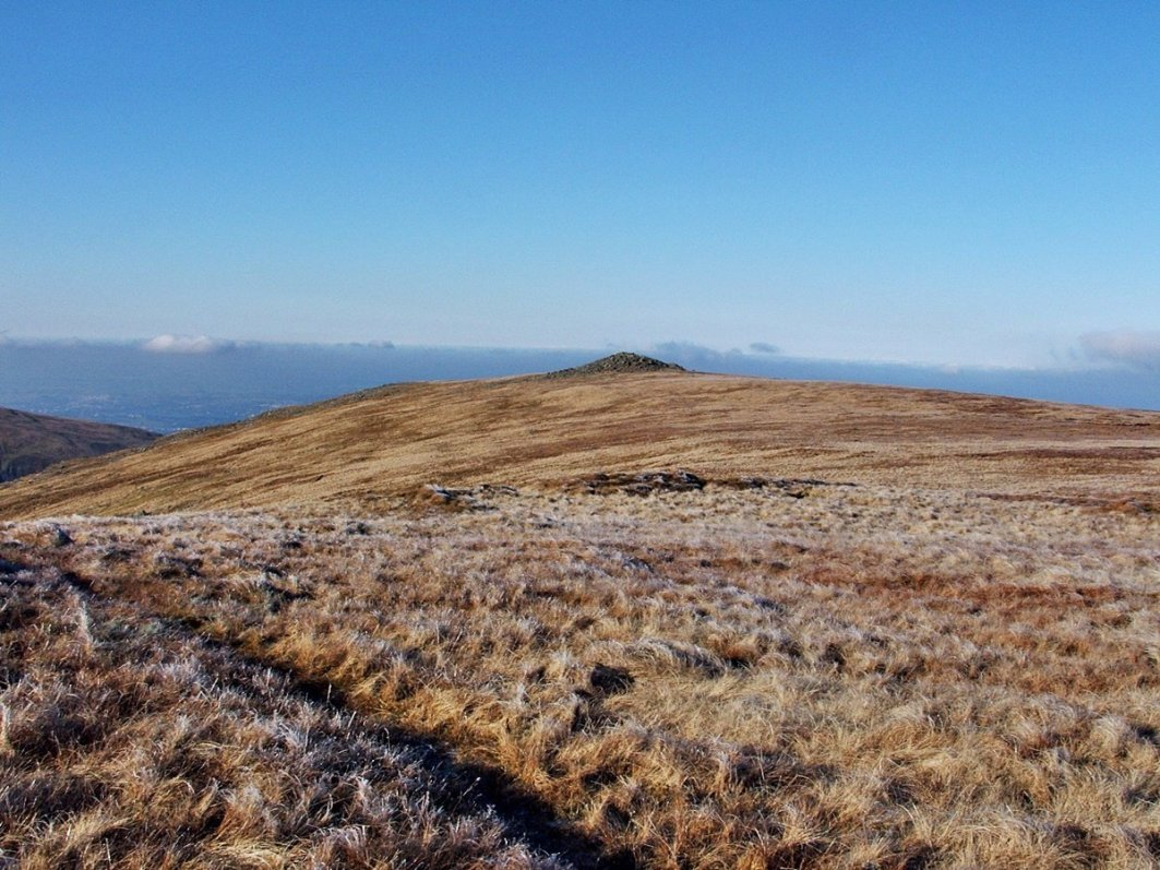 Llwytmor and Foel Fras from Aber