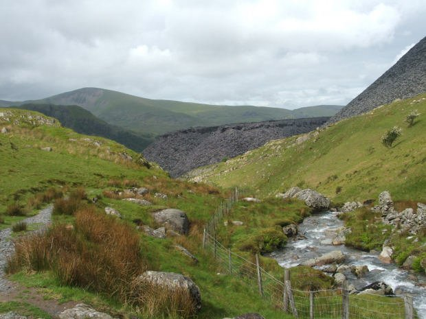 Elidir Fawr and Y Garn from Nant Peris