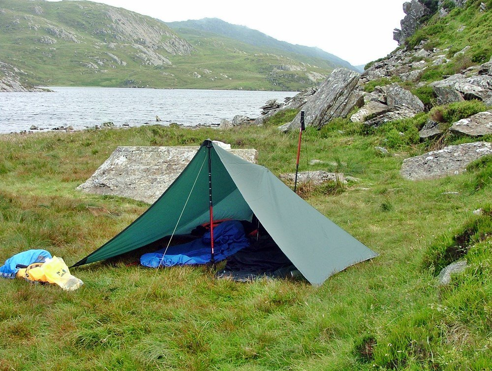 Wild Camping in Snowdon - Moelwynion