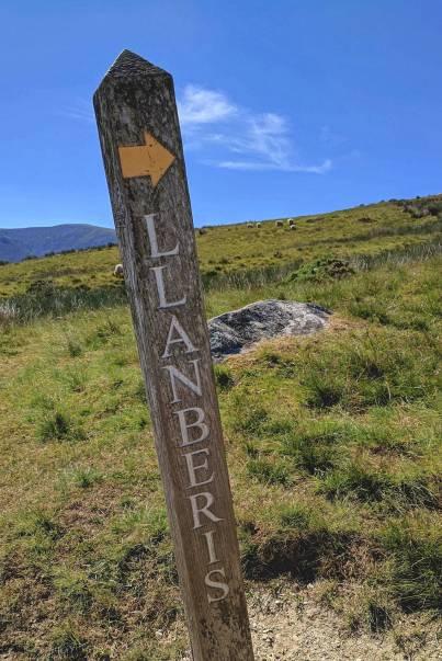 Walk up Moel Cynghorion from Snowdon Ranger Circular Route