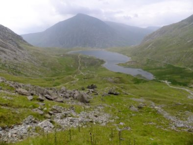Y Garn via Devil's Kitchen from Ogwen