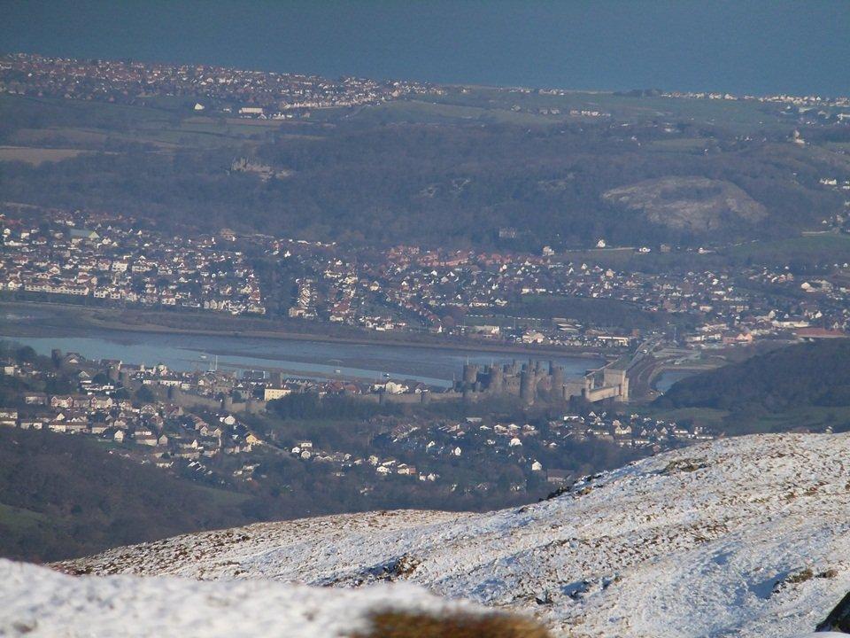 Walk up Tal y Fan from Llanfairfechan