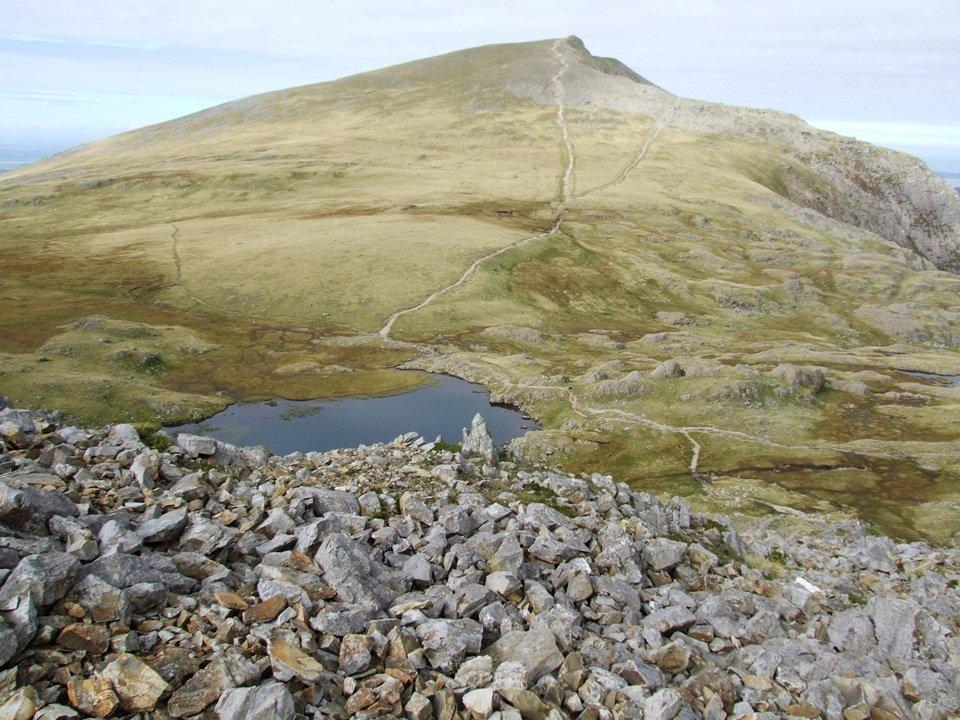 Glyderau from Deiniolen to Capel Curig