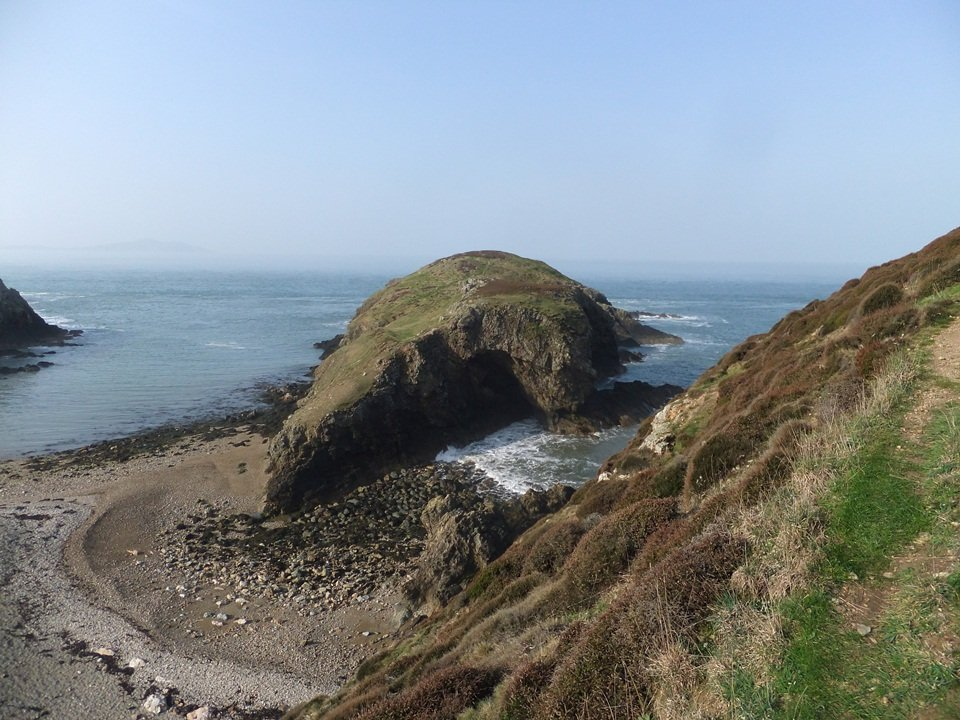 Anglesey Coastal Path Stage 2 Porth Swtan to Cemaes