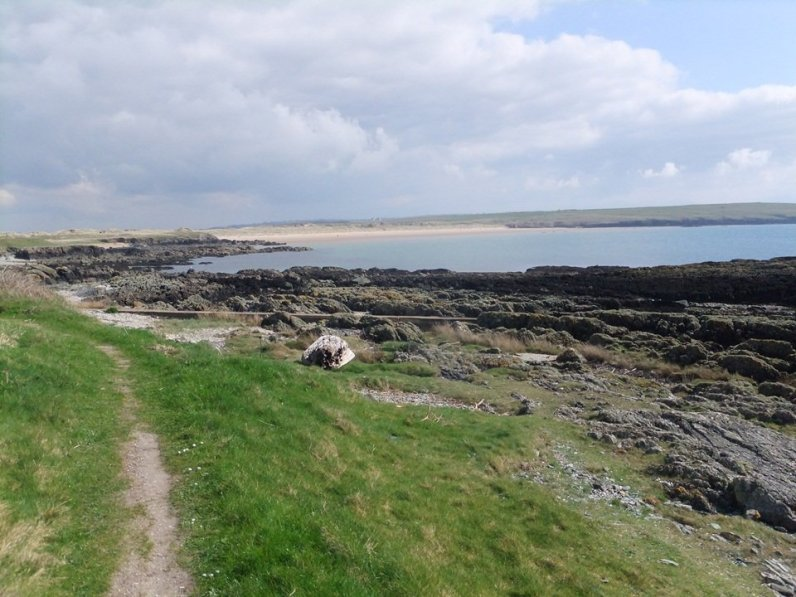 Anglesey Coastal Path Stage 10 Aberffraw to Four Mile Bridge