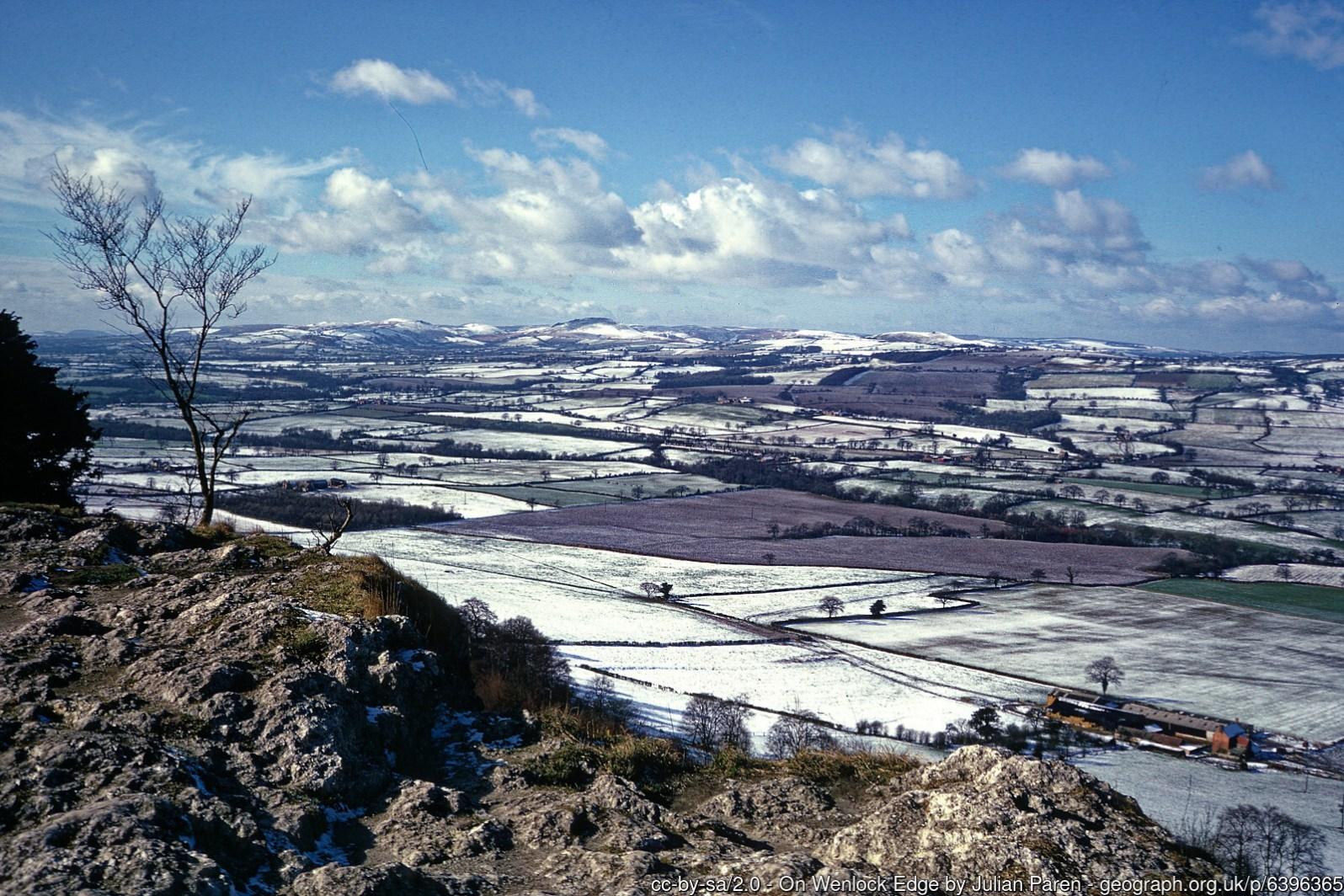 On Wenlock Edge geograph-6396365-by-Julian-Paren