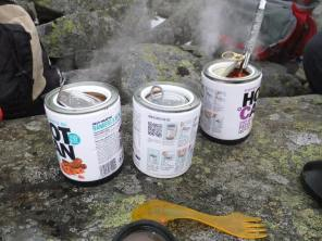 We tried out some Hot Can self heating meals, they went down a treat! Review to follow soon.