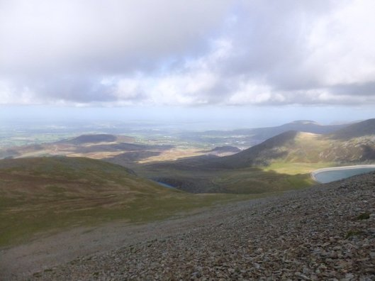 Walk up Elidir Fawr From Marchlyn Mawr and Deiniolen