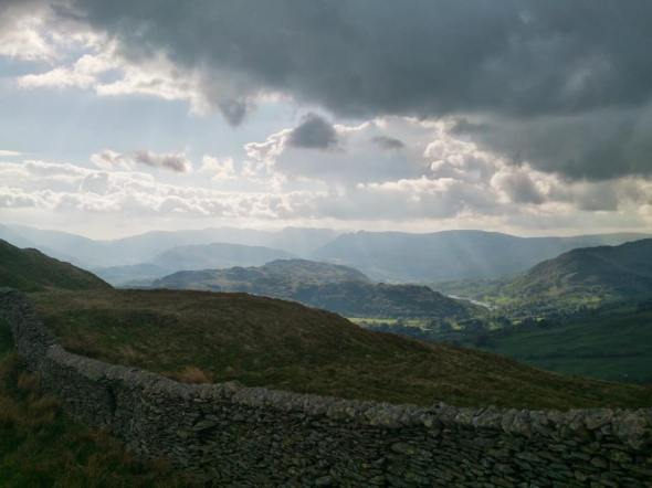 Wansfell Pike and Baystones Walk from Troutbeck