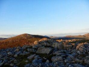 Nantlle Ridge from Nebo