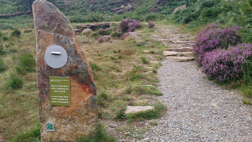 An Easy Family Walk Around Llyn Dinas Near Beddgelert