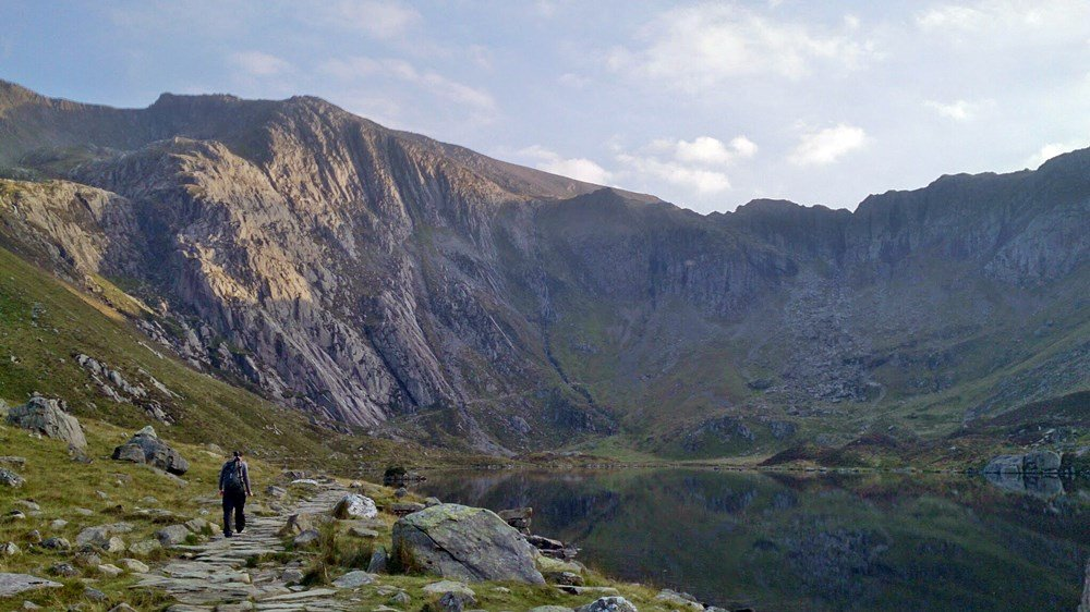 Walk to Devil's Kitchen and Cwm Idwal