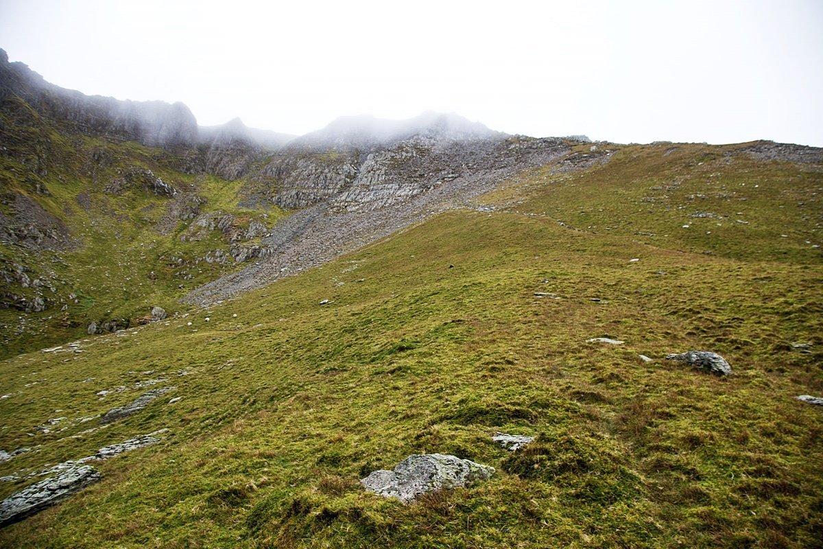 Yr Elen North East Ridge Scrambling Route