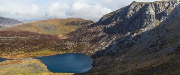 Craig Cwm Silyn – Along The Cliff's Edge