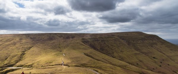 A Vale of Ewyas Horseshoe – the Black Mountains from Llanthony