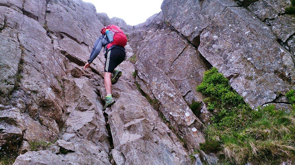 Scrambles in Snowdonia Pen yr Ole Wen