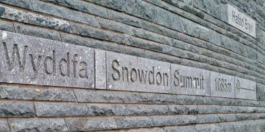 Yr Wyddfa and Snowdon - Set in Stone?