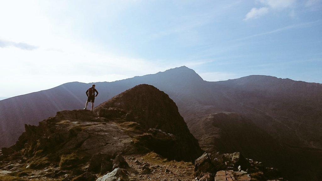 East top of Lliwedd - bit of a bump before the proper summit!!