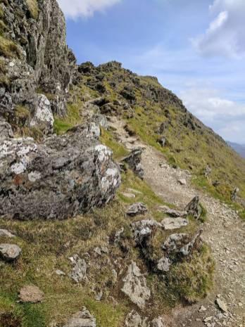 The Rhyd Ddu Path up Snowdon Cambrian Way