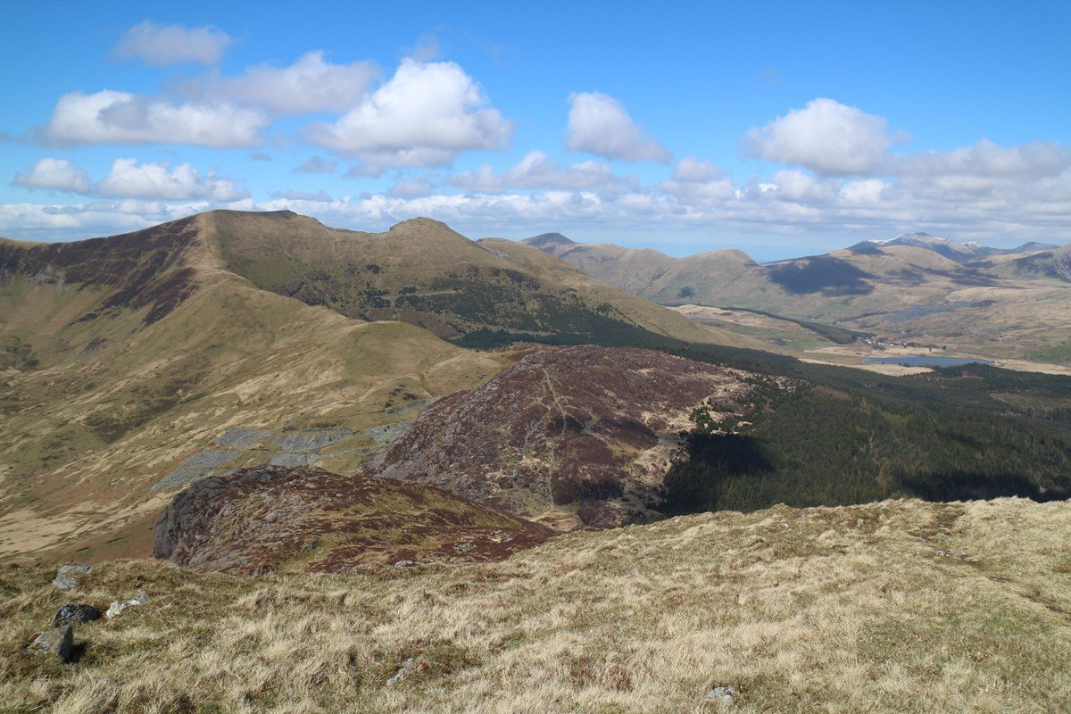 Walk up Moel Hebog from Beddgelert