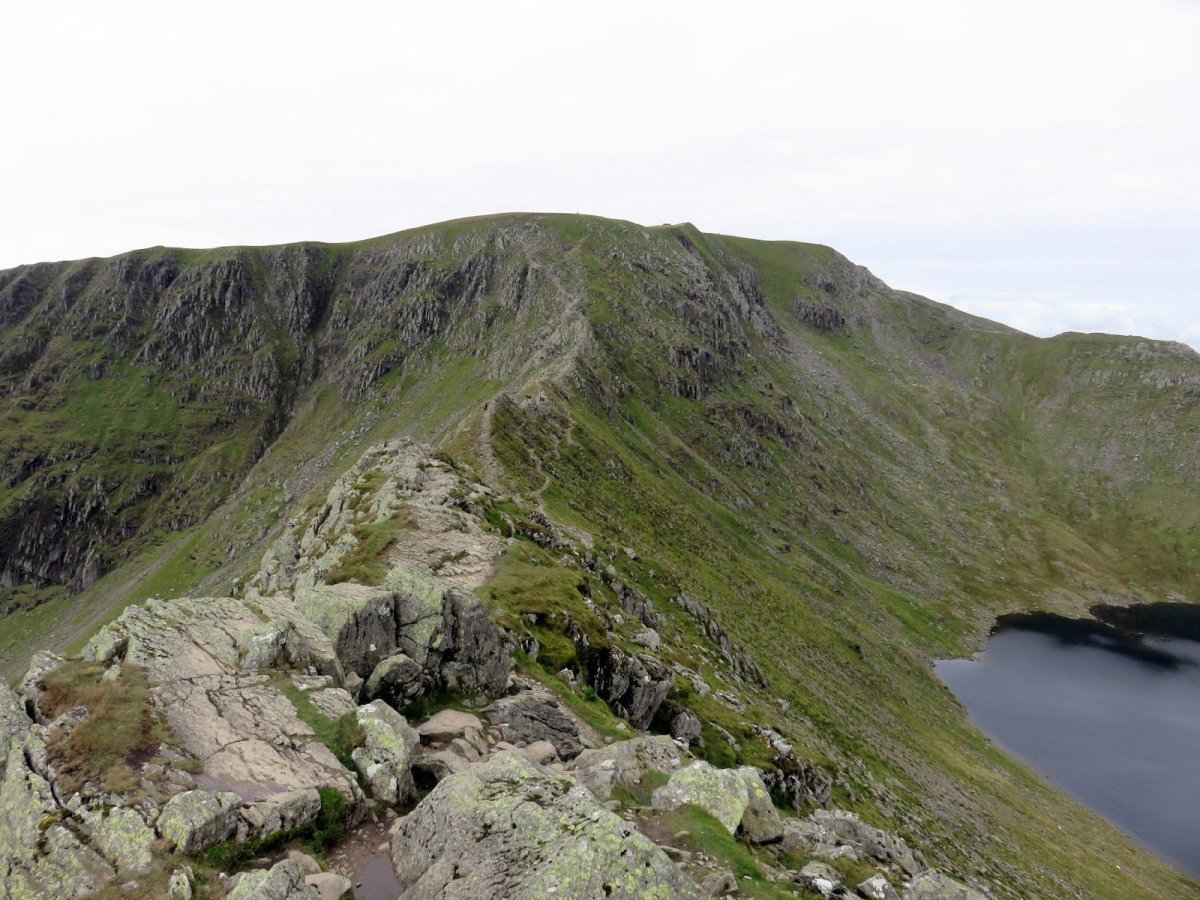 All the Walking Routes up Helvellyn