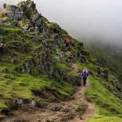 Snowdon South Ridge from Rhyd Ddu