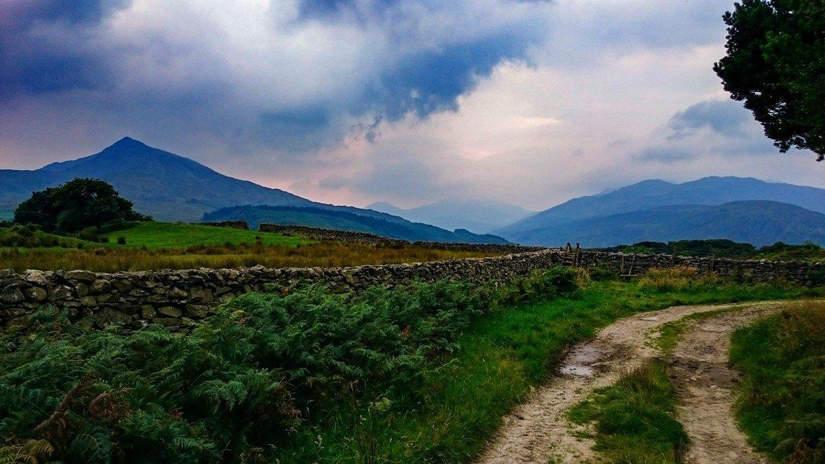 3 - Llynnoedd Crafnant and Geirionnydd from Capel Curig