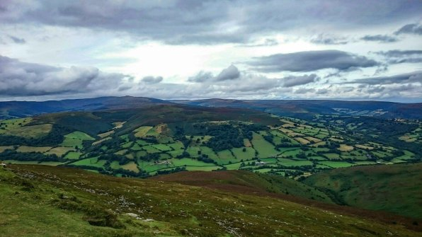 Walk up the Sugar Loaf or Y Fal from Mynydd Llanwenarth