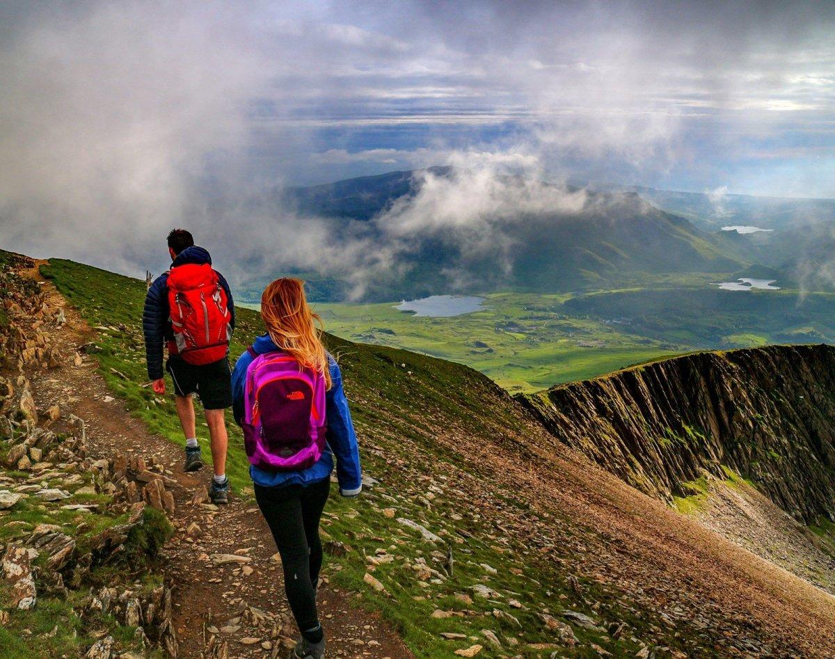Snowdon South Ridge Path