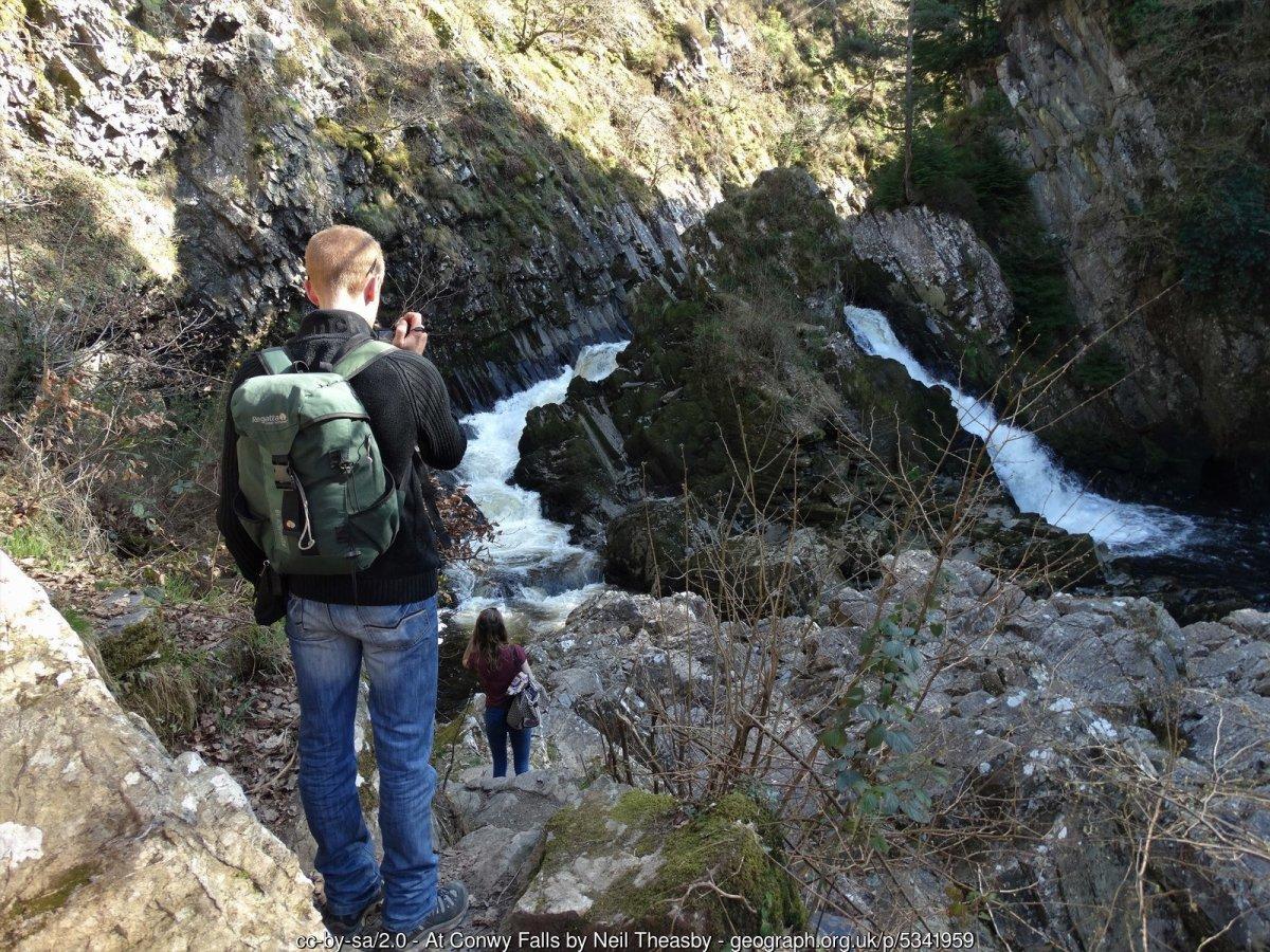 Rhaeadr y Graig - Conwy Falls Walk Betws-y-coed