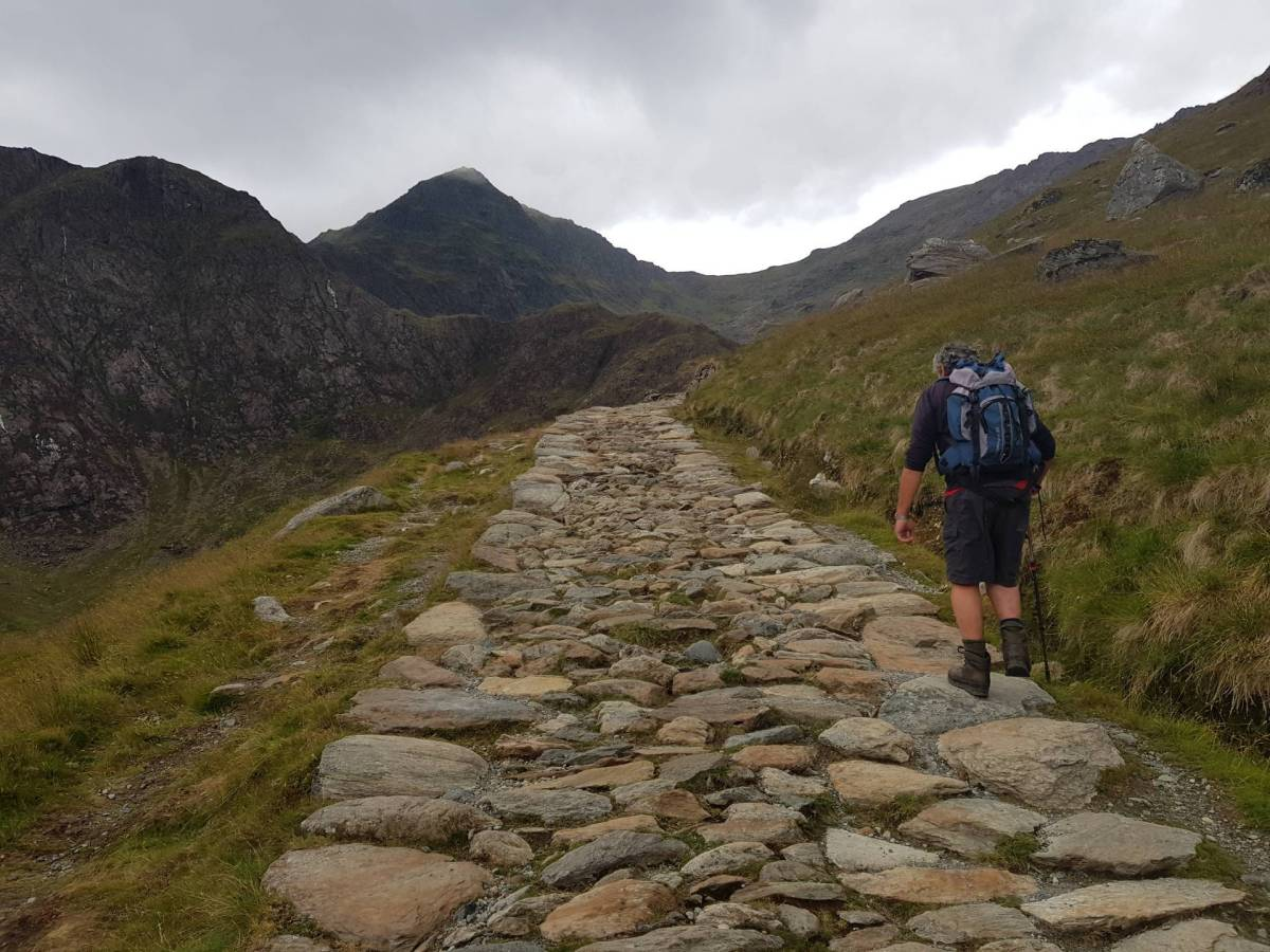 Snowdon via The Miner's Track From Pen y Pass