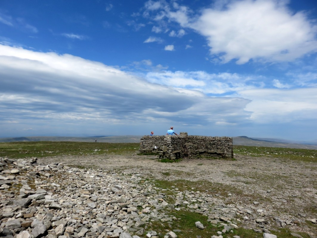 011 - Ingleborough summit