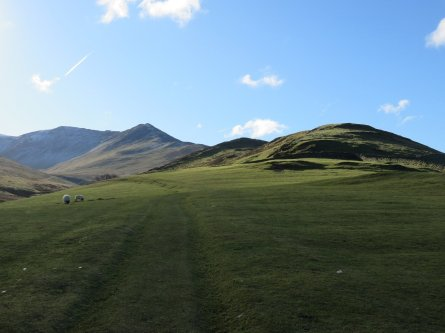 The footings of the Ullock Pike ridge