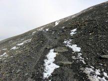 Skiddaw's steep path