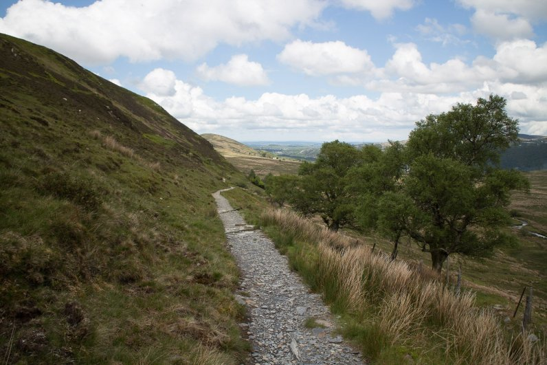 Clogwyn y Gwin Path and Maesgwm (124 of 135)