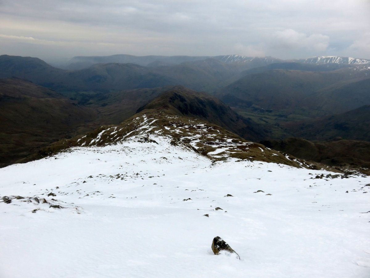 The Deepdale Horseshoe from Patterdale - All The Walking Routes up Fairfield
