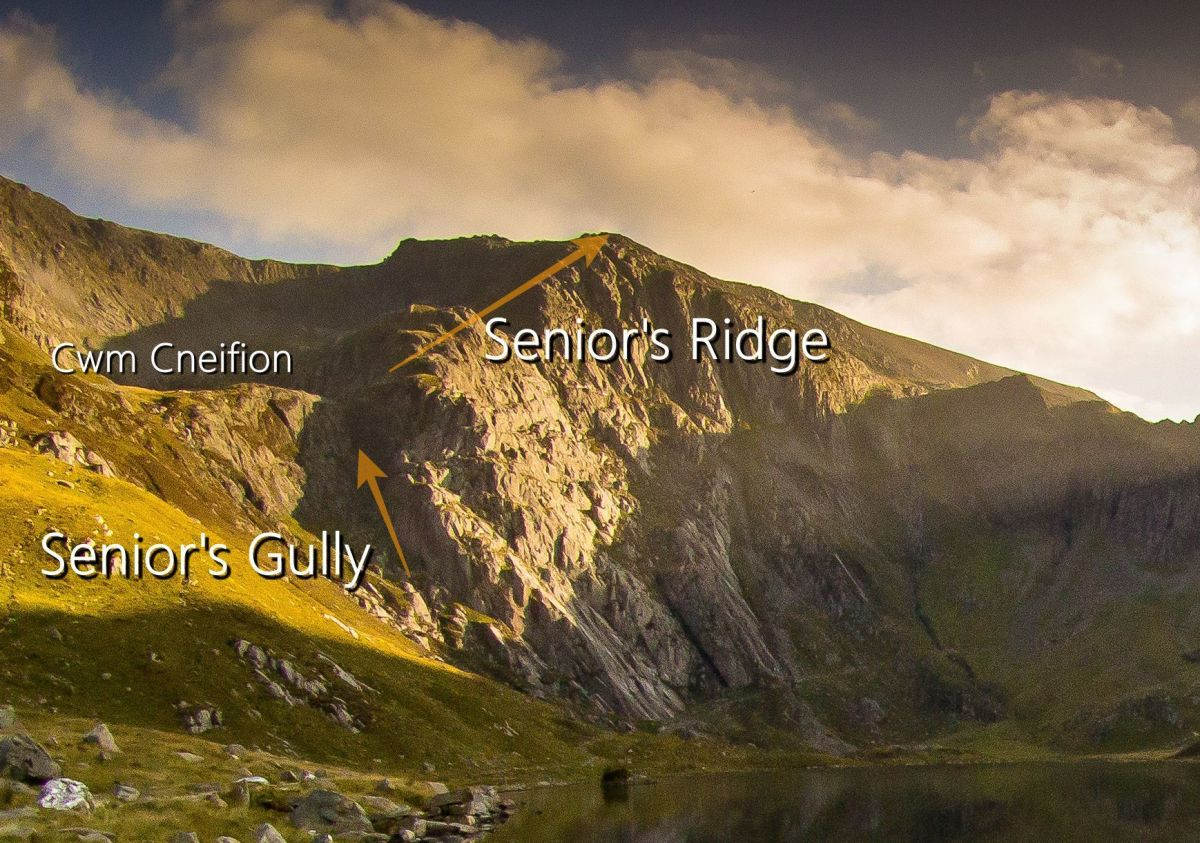 Best Grade 1 Scrambles in Snowdonia Senior's Ridge Glyder Fach