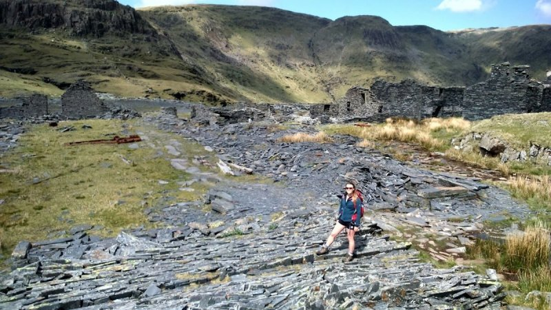 The 100 highest mountains in Wales013