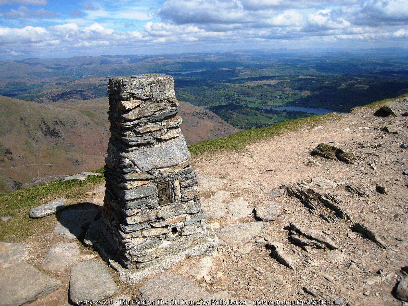 14 - Old Man of Coniston - 13 -The Highest Mountains In England - The Top 25