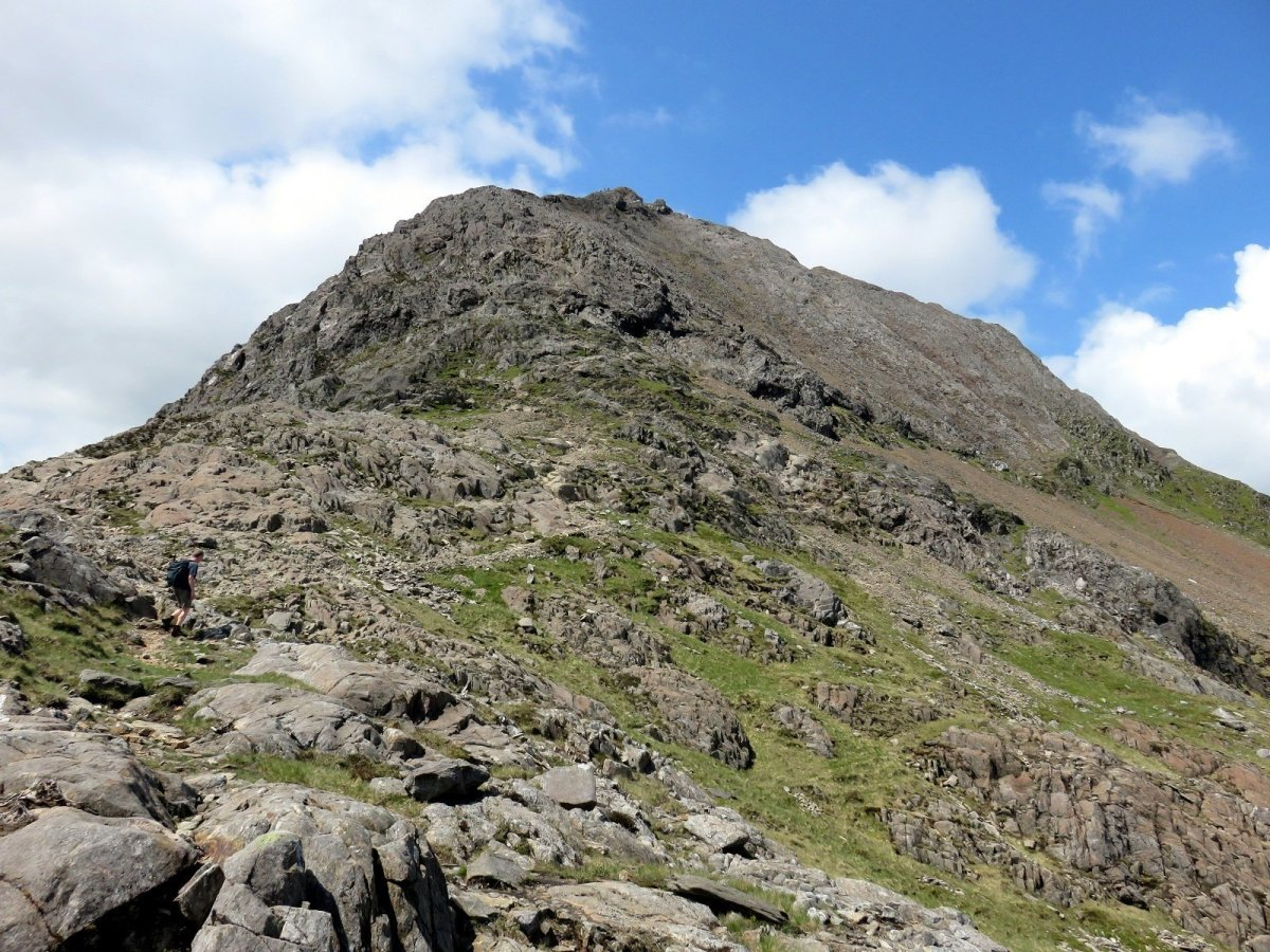 Crib Goch Scramble from Pen y Pass