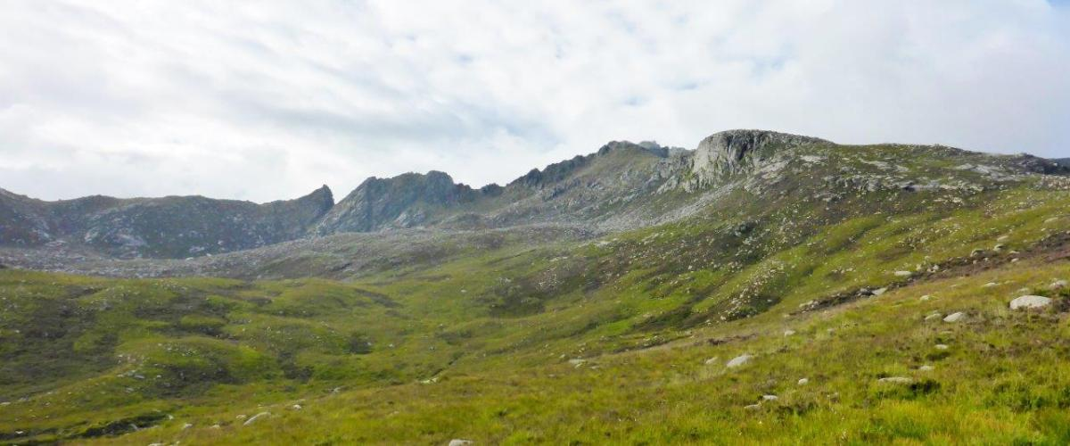 North Sannox to Brodick via Beinn Tarsuinn