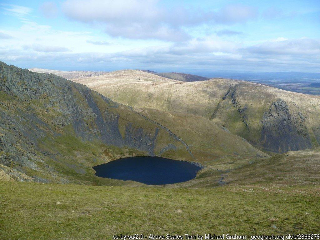 Best Walks from Keswick in the Lake District - Blencathra Sharp Edge