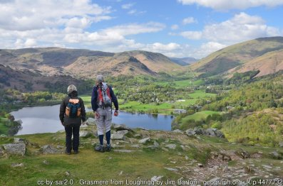Loughrigg Fell from Ambleside