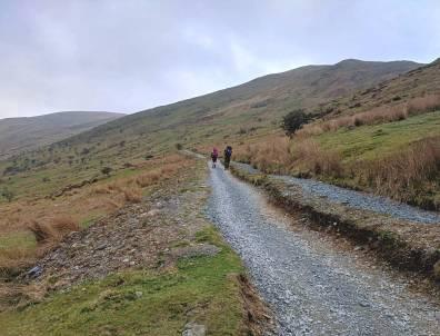 Walk up the Snowdon Ranger Path