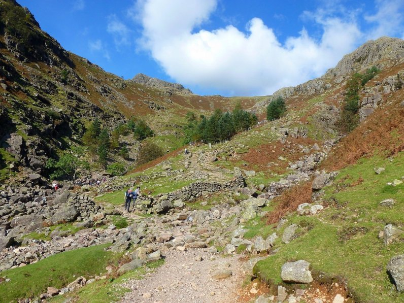 IMG00_The foot of the Stickle Gill path